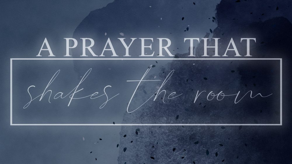 A Prayer that Shakes the Room! Image