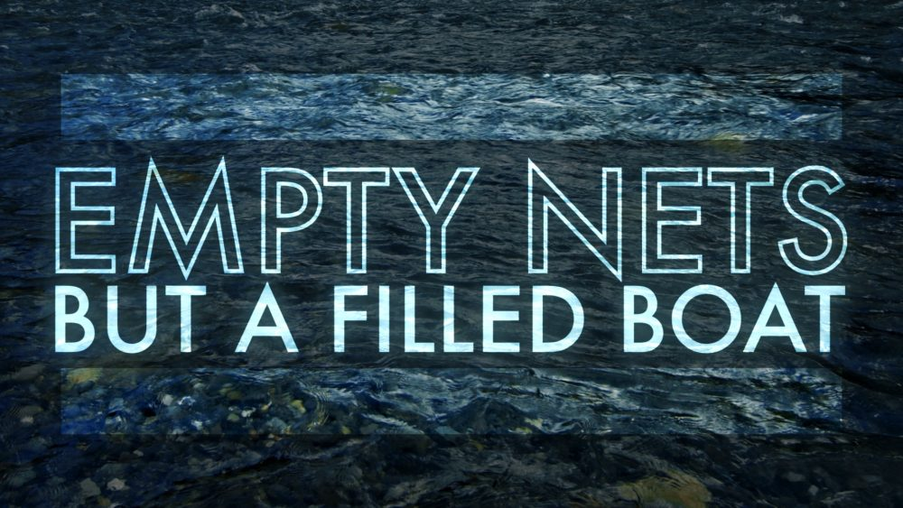 Empty Nets But A Filled Boat Image